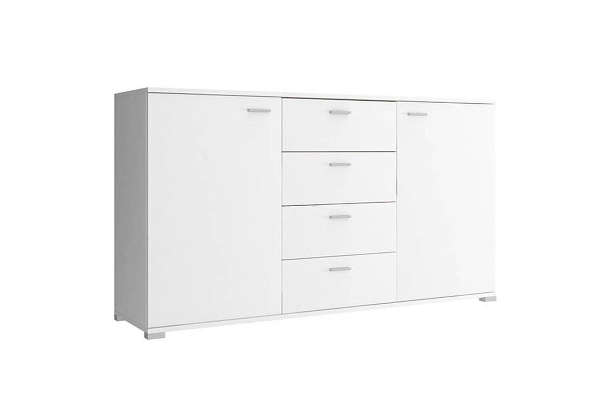 Expedo.sk Komoda KIKI 150, 150x85x40 cm, biela farba