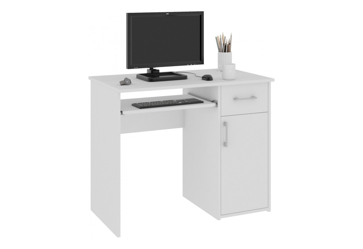 Expedo.sk Psací stůl SPIN, 90x74x50, bílá, doprava len 9 Euro