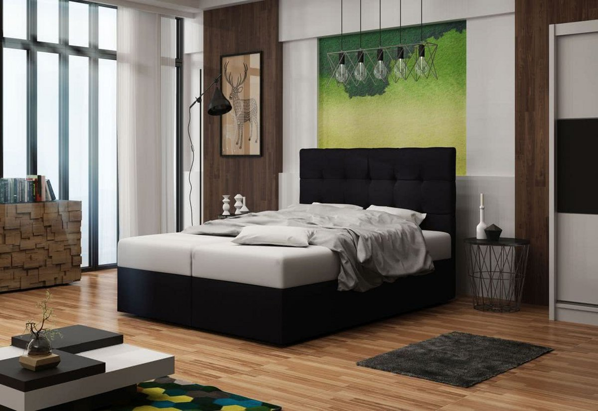 Expedo.sk Čalúnená posteľ DOUBLE 2, cosmic 100, 160x200 cm, doprava len 9 Euro