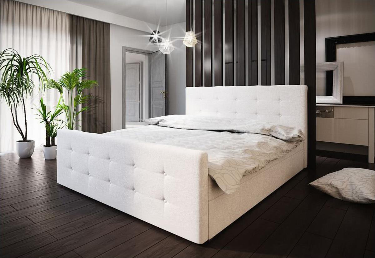 Expedo.sk Čalúnená posteľ BAILANDO 1 + rošt + matrac, 160x200, Cosmic 10, doprava len 9 Euro