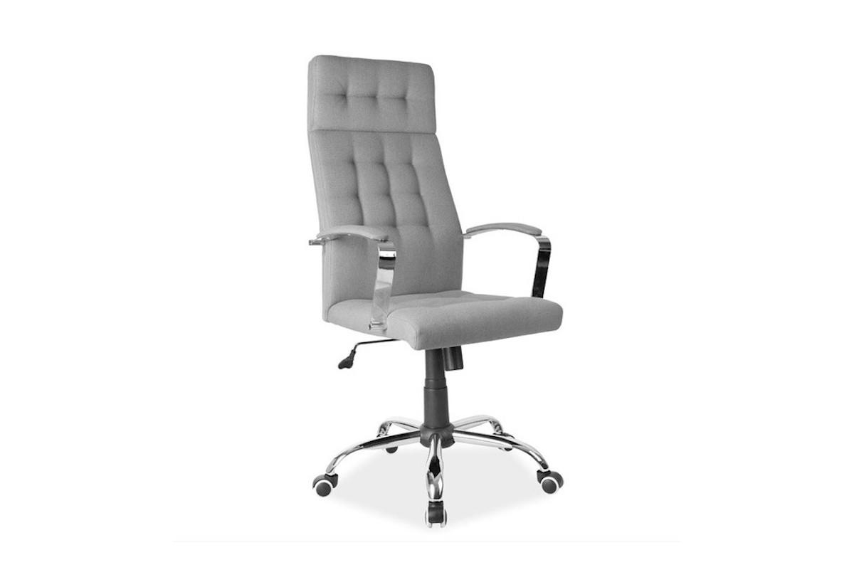 Kancelárska stolička MATURIN Q-136, 70x119x49, sivá