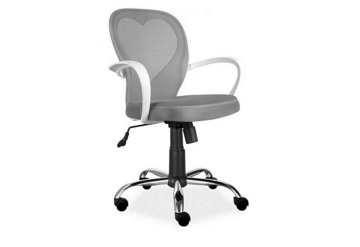 Detská stolička MINNIE, 60x98x47, sivá