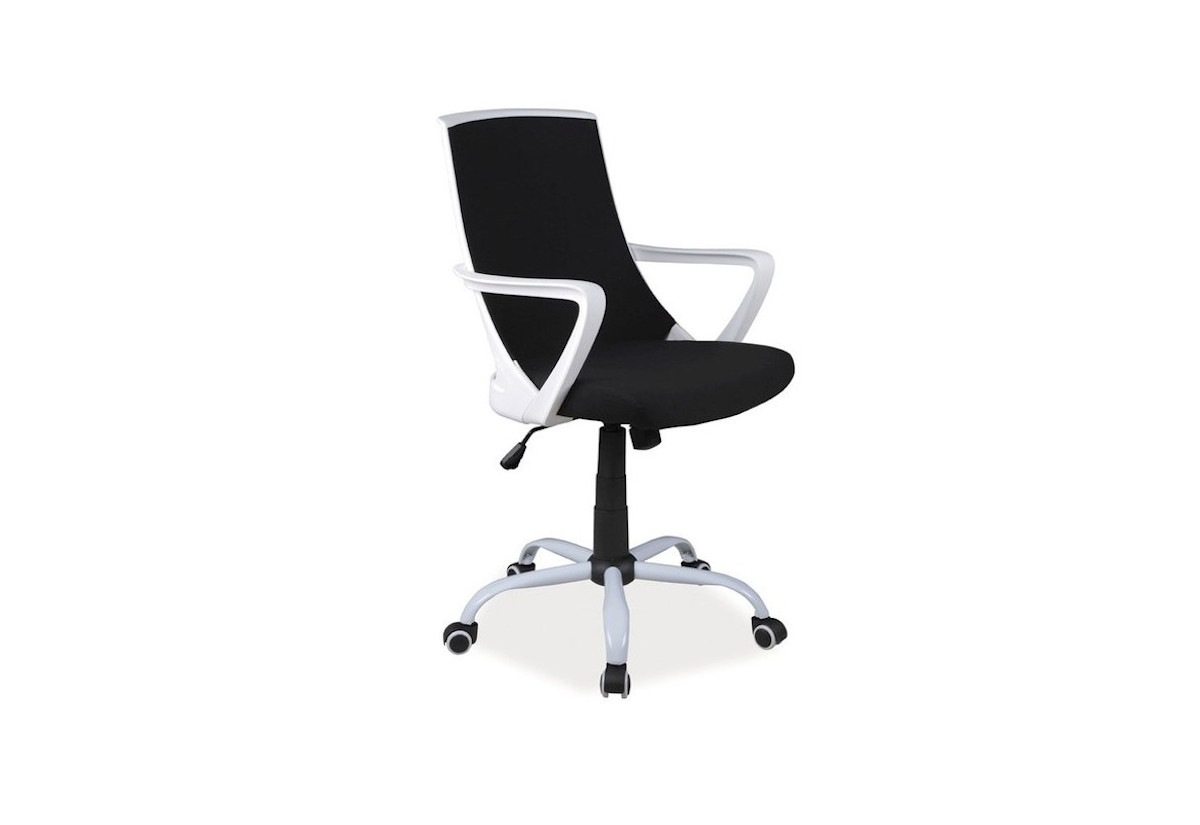 Kancelárska stolička FROZEN Q-248, 59x92x46, čierna